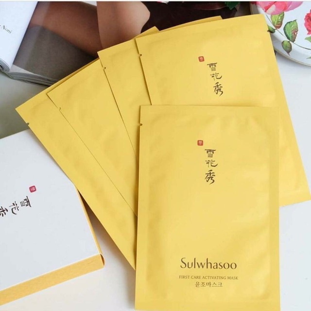 Mặt nạ First care Sulwhasoo