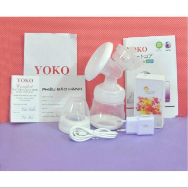 Máy hút sữa điện đơn YOKO