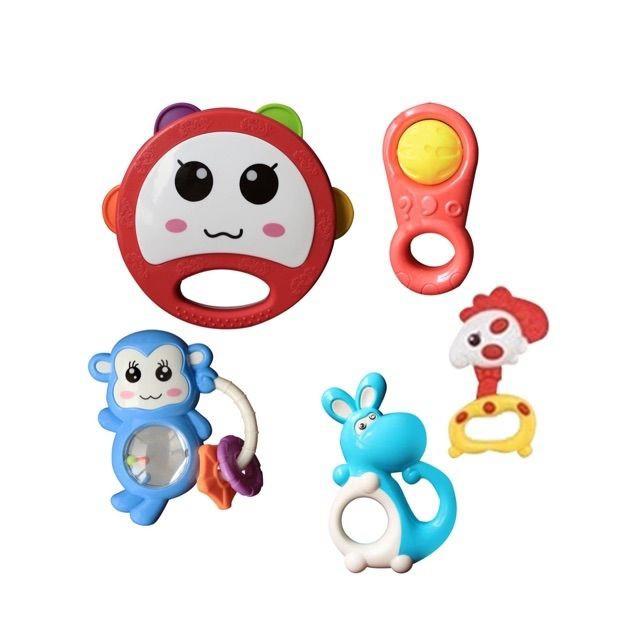 tuan0036 Bộ đồ chơi xúc xắc 5 món Mimi Bells tuan0036