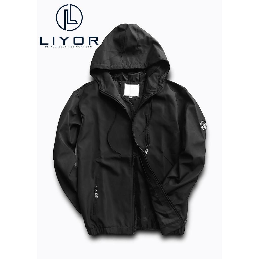 Áo khoác nam (FREESHIP 50K) áo gió vải dù cao cấp 2 lớp nón rộng, chống nắng và chống nước phong cách Hàn Quốc - Liyor
