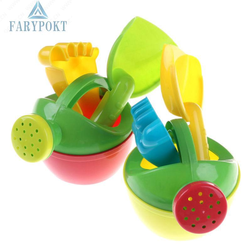 New Fashion Child Flower Pot Sand Beach Toys Bath Water Educational Toys set