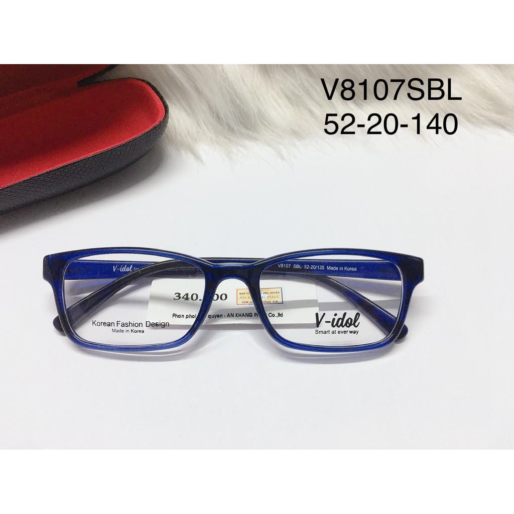 Giá bán Gọng Kính Cận Nhựa Dẻo Chính Hãng Vidol V8107Sbl