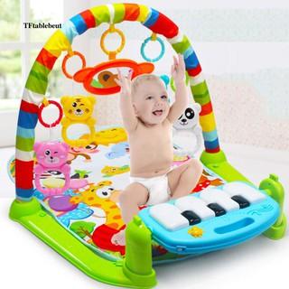 Cartoon Animal Baby Play Piano Mat Newborn Music Carpet Toy Early Education