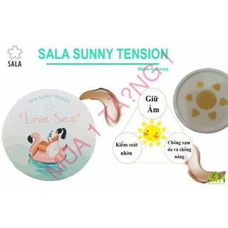 [TẶNG ] Phấn Nước Sala Love Sea Tặng 1 Son Kem SALA kèm son dưỡng