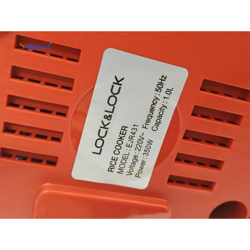 Nồi Cơm Điện Lock&Lock EJR431 (màu đỏ dung tích 1L) - Chính hãng