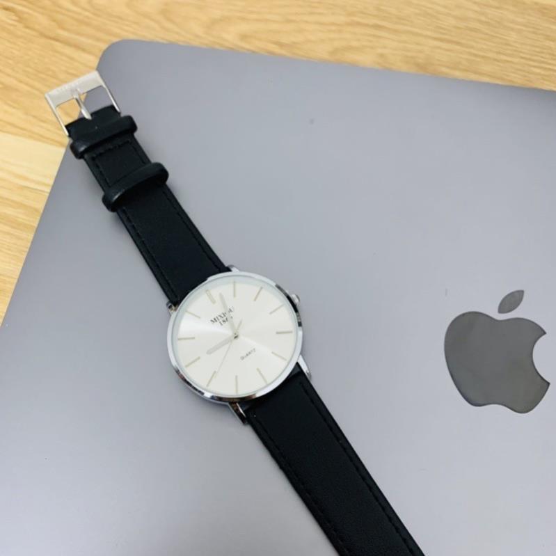 Đồng hồ nam cao cấp chống nước chống xước mặt đá cao cấp MIXIOU và thép không rỉ.