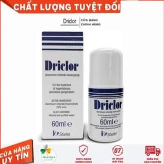 Driclor 60ml Của Anh – Lăn Khử Mùi Mồ Hôi Tay Chân Nách