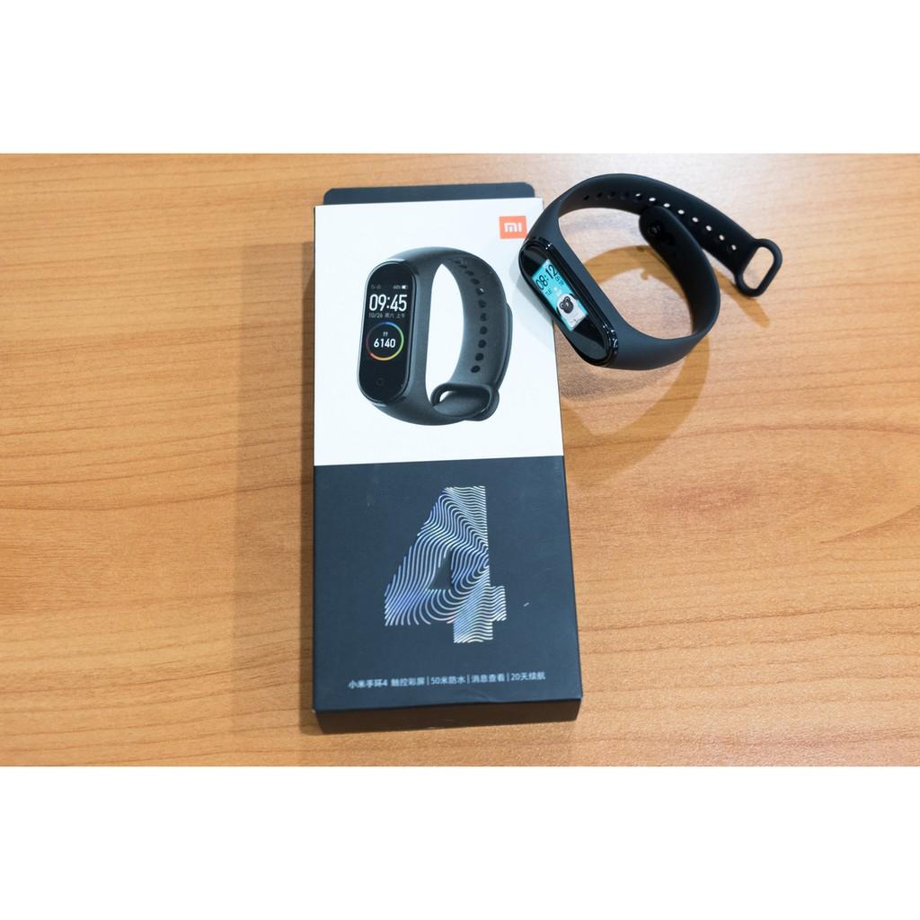Vòng đeo tay Xiaomi MiBand 4 - Đồng hồ thông minh Xiaomi Mi Band 4 - Hàng Nhập Khẩu