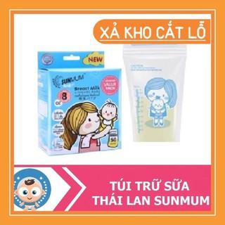 [Mã MKBCSALE giảm 10% đơn 250K] [BÁN CHẠY NHẤT] Túi Trữ Sữa SUNMUM Hàng Thái Lan Mẫu Mới 2019