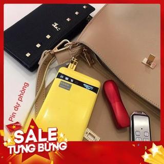 [Siêu Sốc] PIN DỰ PHÒNG EPENYU 12000MAH (mẫu mới) CHÍNH HÃNG 2 CỔNG USB CÓ ĐÈN PIN MÀN LED BÁO DUNG LƯỢNG PIN thumbnail