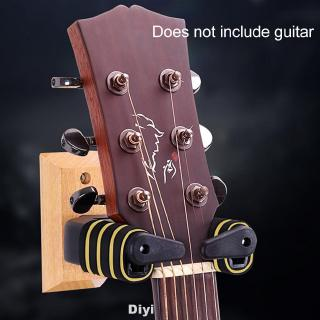 Accessories Gravity Support Wall Mountable Wood Base Guitar Hanger