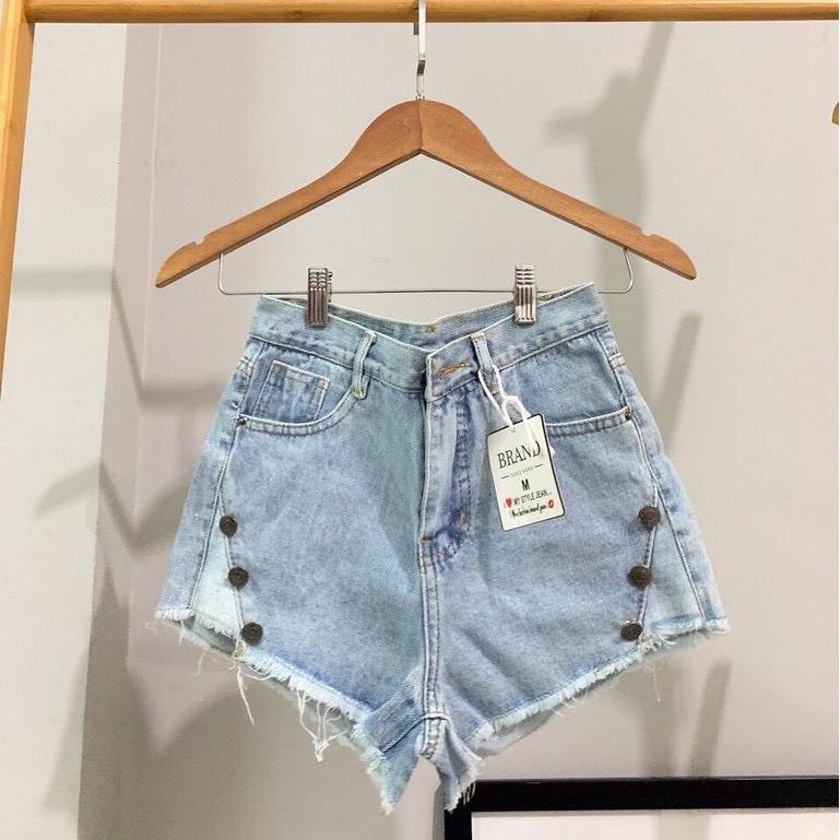 [Mã WASEPRN hoàn 20% xu đơn 99k] Quần short jean nữ lưng cao King168 , quần short nữ cao cấp QS35