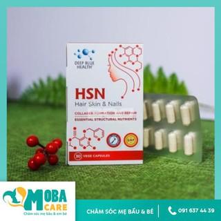 Viên uống HSN Deep Blue Health dưỡng ẩm sáng da dưỡng tóc móng