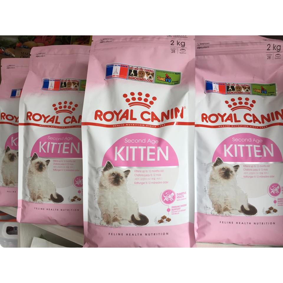Thức ăn hạt Royal canin kitten 36 (2kg)