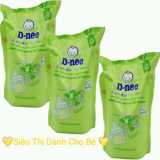 Combo 3 túi nước rửa bình sữa Dnee 600ml cho bé thumbnail