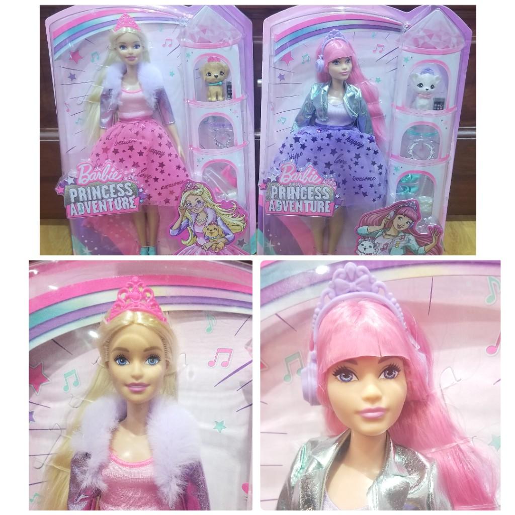 Búp bê Barbie Princess Adventure – Mỹ