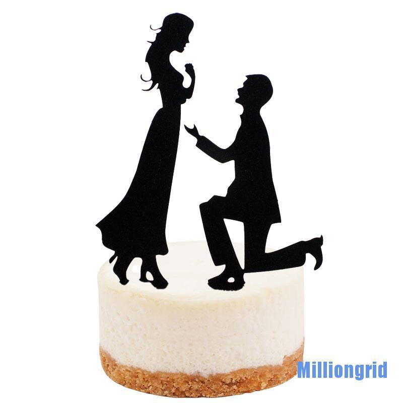 Cờ Trang Trí Bánh Cupcake Hình Trái Tim Xinh Xắn