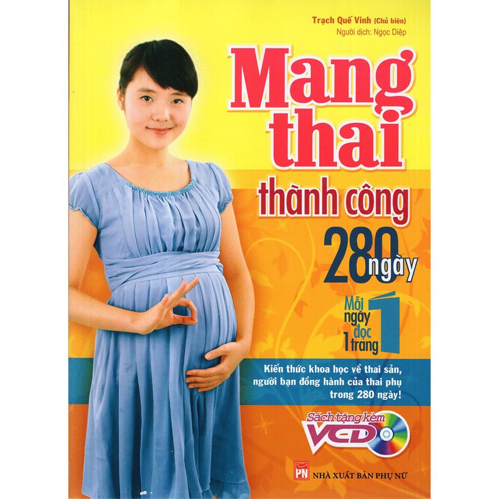 Sách - Mang Thai Thành Công - 280 Ngày Mỗi Ngày Đọc 1 Trang