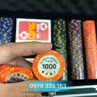 Phỉnh world series poker 300 chip hàng nhập khẩu