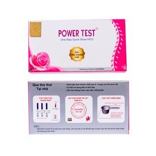 Que thử thai bản 5 mm phát hiện thai sớm sau 4 - 6 ngày Power test thumbnail