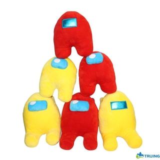20CM Soft Plush Among Us Game Plush Toy Original Kawaii Stuffed Doll Christmas Gift Cute Red Small Among Us TRUING