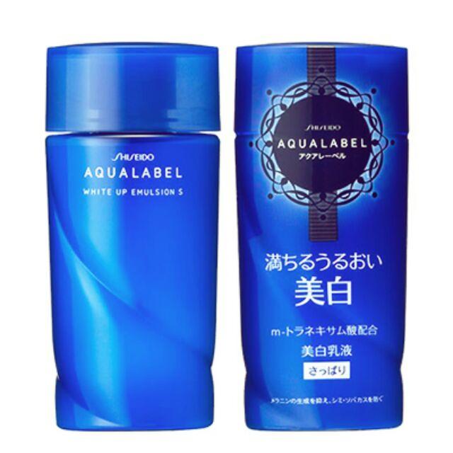 Sữa dưỡng Shiseido Aqualabel White Up Emulsion 130ml từ nhật bản | Shopee  Việt Nam