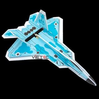 Kit dẻo F22 64cm sơn sẵn (rằn ri) siêu bền