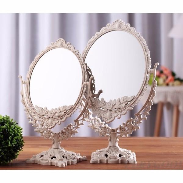 Gương trang điểm 2 mặt kiểu sang trọng vrg1138