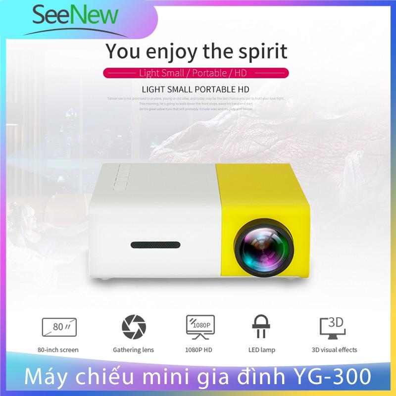 Máy Chiếu Mini YG300 Smart LED Projector Full HD 1080p