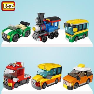 Trứng đồ chơi xe công trình 4009 LOZ