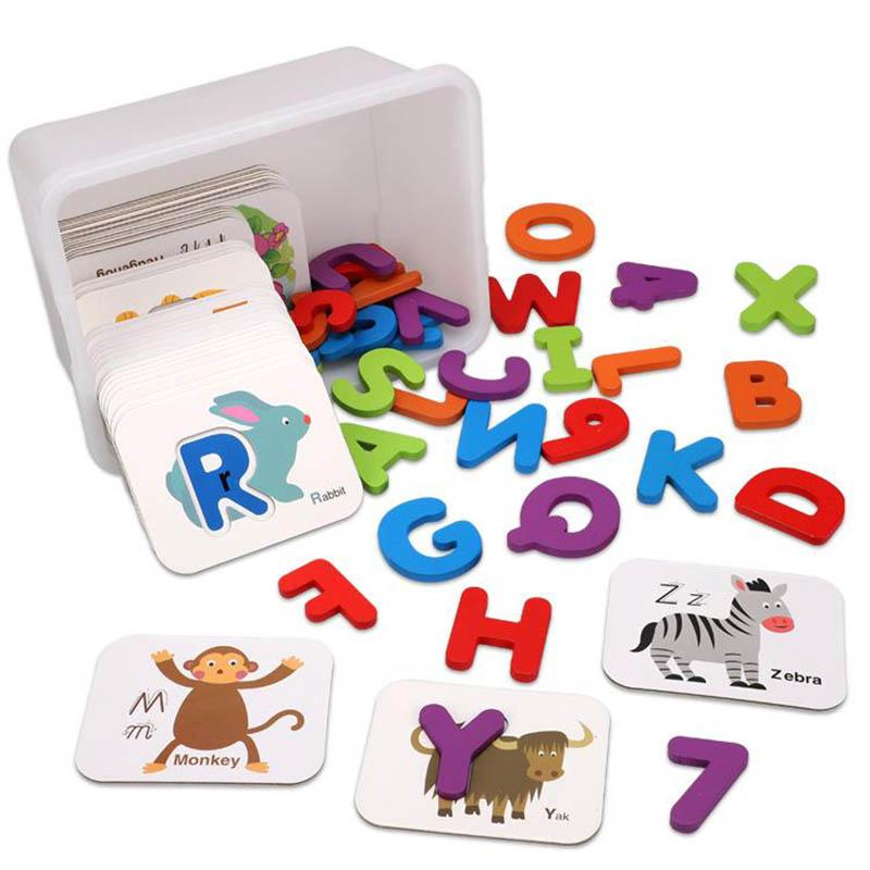 Bộ sản phẩm thẻ và chữ cái tiếng Anh cho bé
