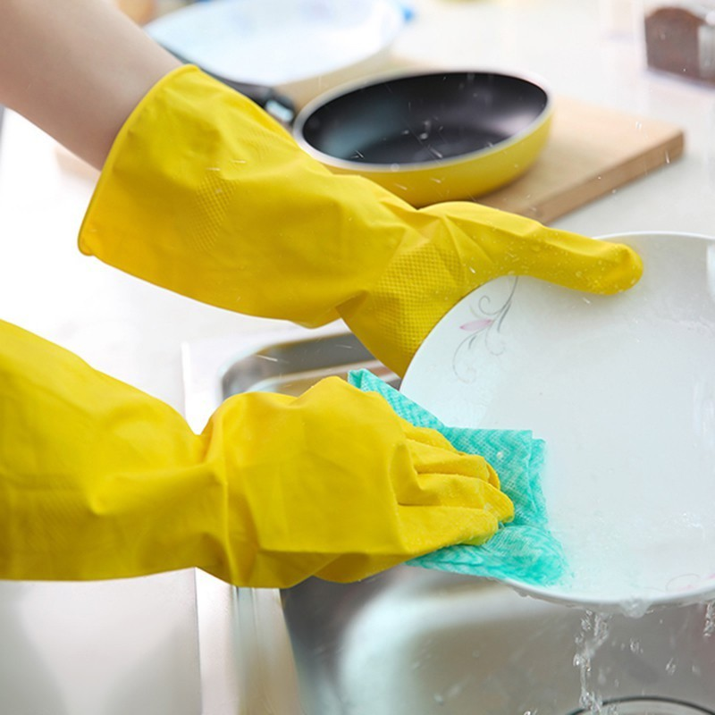 găng tay cao su rửa bát, vệ sinh cao vrg1391