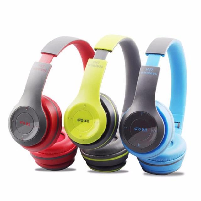 [SALE 10%] Tai nghe chụp tai, headphone bluetooth P47 - 2453298 , 1128686341 , 322_1128686341 , 160000 , SALE-10Phan-Tram-Tai-nghe-chup-tai-headphone-bluetooth-P47-322_1128686341 , shopee.vn , [SALE 10%] Tai nghe chụp tai, headphone bluetooth P47