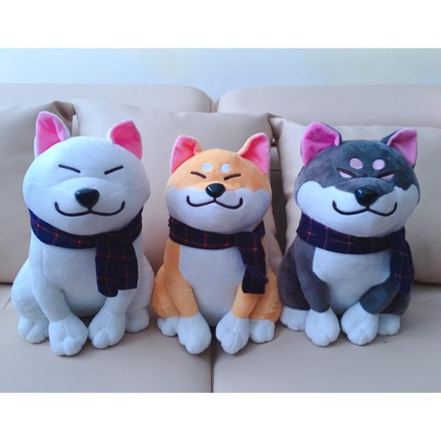 (Có sẵn) Chó bông shiba inu siêu cute, gấu bông cho bé
