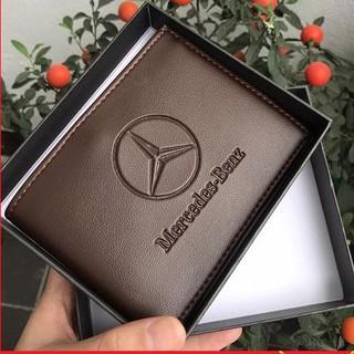 Bóp ví Nam - Ví nam Mercedes-Benz siêu xịn thời trang cao cấp phong cách trẻ sành điệu gu nam tính chính hãng cK-7936539 thumbnail