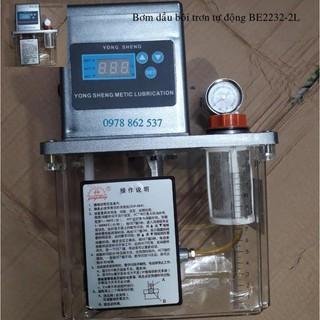 Bơm dầu bôi trơn tự động 2 lít BE2232-2L