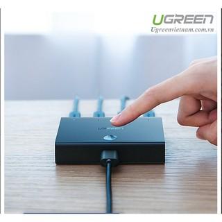 Bộ Chia Tín Hiệu USB 2.0 Cho 4 Máy Tính Cao Cấp Ugreen 30346 – Hàng Chính Hãng