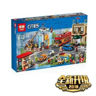bộ đồ chơi lắp ráp Lego City 60200 Lepin 02114 Quảng Trường Thành Phố Lego Xe Quà Cho Các Bé Trai