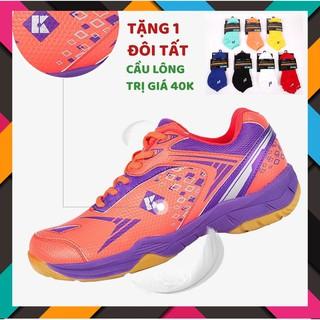 [Chính hãng] Giày Cầu Lông Kumpoo Kh26 Đỏ êm chân, bền, bảo hành 2 tháng, 1 đổi 1 trong vòng 15 ngày