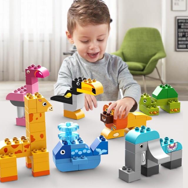 Lego Feelo 102 khối lắp ghép động vật