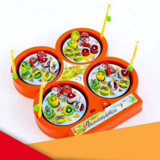 [ HOT ] Bộ đồ chơi câu cá 4 hồ