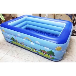 Bể bơi phao bơi cho bé 1M8 x 3 tầng