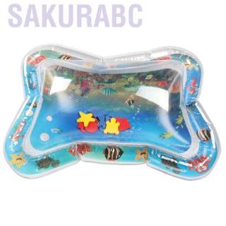 Sakurabc Sunflower Baby Ice Pad Large Inflatable Prone Pat Water Cushion Marine Life Mat