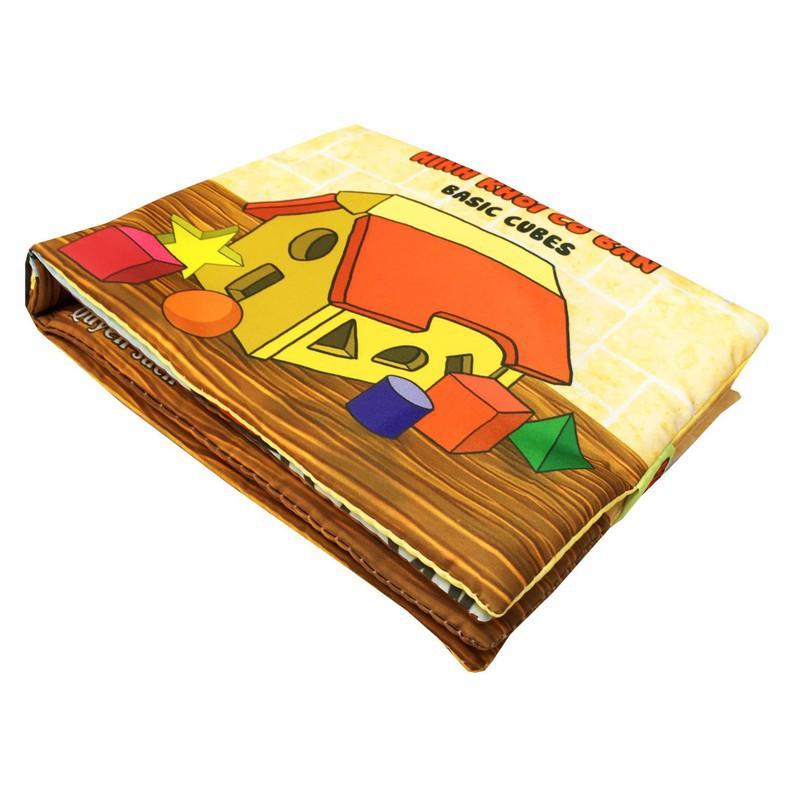 Sách vải PiPo chủ đề Hình khối