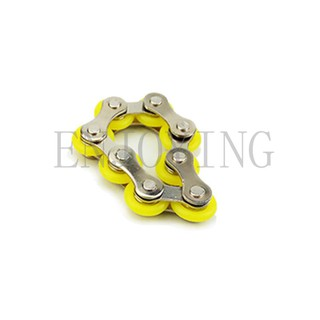 Hand Finger Spinner EDC Sensory Stress Relief Reducing Key Ring Toy ADHD