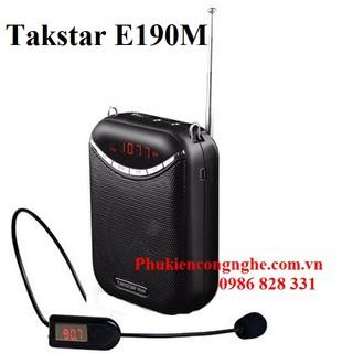 [Mã ELMSBC giảm 8% đơn 300K] Máy trợ giảng không dây Takstar E190M hỗ trợ FM Radio