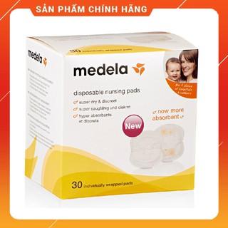 Thấm sữa Medela hộp dùng một lần 30 chiếc Phòng tránh viêm, nứt núm vú. Bảo vệ núm vú khỏi vi khuẩn.