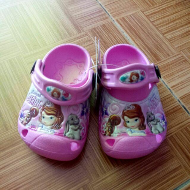Giày sục nhựa siêu nhẹ bé gái thái lan