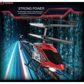 Fixed height 3.5 channel alloy remote-controlled aircraft helicopter uav aircraft children's electric toy