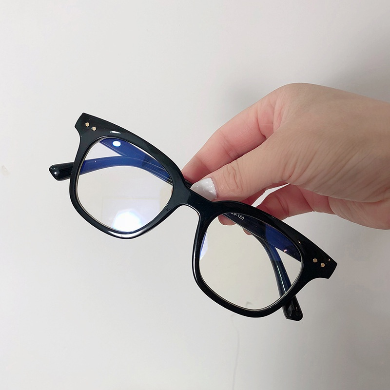 Kính giả cận chữ V phong cách Hàn Quốc mắt kính không độ chống ánh sáng xanh đẹp giá rẻ...